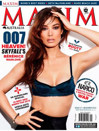 Bérénice Marlohe, de Chica Bond a Chica Maxim y tiro porque me toca