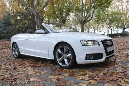 Audi A5 3.0 TDI Cabrio, prueba (parte 1)