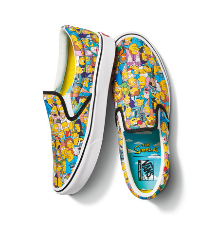 Fa20 Lifestyle Vn0a3wmd1tj Vansxthesimpsons Comfycushslipon Springfield