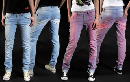 Converse Jeans Chica