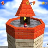 Super Mario 64: cómo conseguir la estrella To the Top of the Fortress de Whomp's Fortress