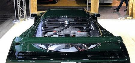 Este Ferrari F40 pintado de verde es único, pero ¿estamos ante una locura o ante una genialidad?