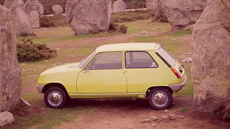 Renault 5, un diseño compacto