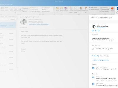 Microsoft integra un CRM en Outlook para agilizar la gestión de clientes en la pyme
