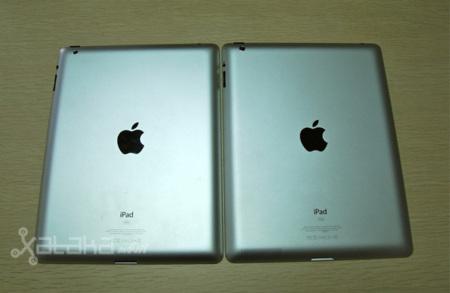 Trasera iPad 2 vs El Nuevo iPad
