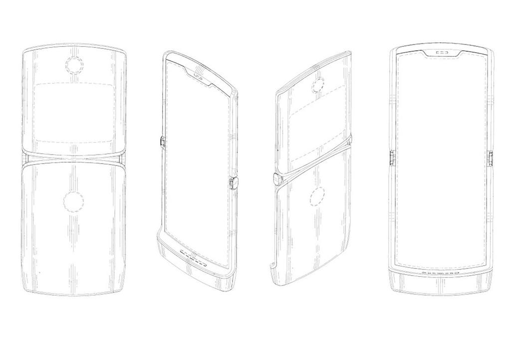 Esta patente nos ofrece nuevos detalles del supuesto Motorola RAZR 2019 con pantalla plegable