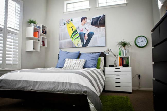 El dormitorio después de la reforma