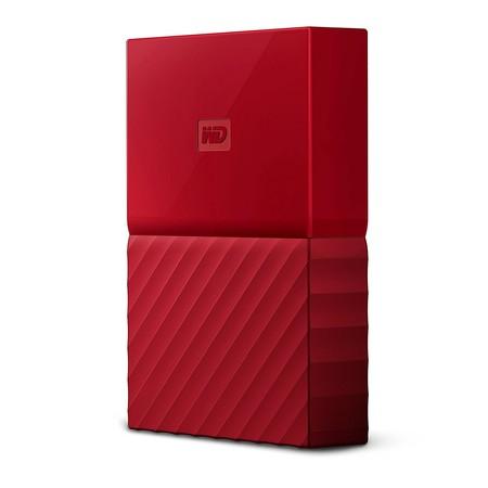 Disco duro portátil WD My Passport, con 4TB de capacidad, por 123,99 euros