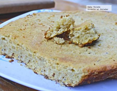 Receta: Pan dulce de garbanzo.