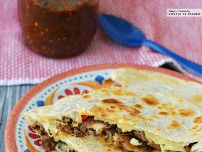 Quesadillas estilo Philly cheesesteak, tarta de higos y almendras y más en Directo al Paladar México