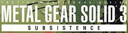 Metal Gear Solid 3: Subsistence no saldrá en España
