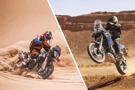 Yamaha XTZ700 Ténéré vs KTM 790 Adventure R: ¿Qué podemos esperar del renacimiento de las motos trail?