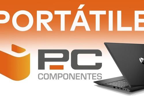 Portátiles en oferta en PcComponentes: equipos HP, ASUS o Lenovo para jugar y trabajar, a precios rebajados