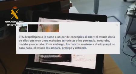 La Guardia Civil no pudo identificar 200 perfiles anónimos en la Operación Araña