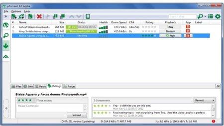 uTorrent libera la Beta 3.0, nuevas funciones y mejoras muy interesantes