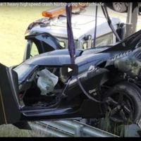 Así ha quedado este Koenigsegg One:1 tras estrellarse en Nürburgring Nordschleife (vídeo)