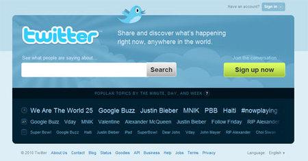 Twitter y viajes