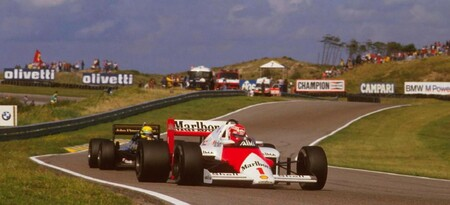 Lauda Zandvoort F1 1985