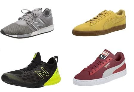 11 ofertas de tallas sueltas en botas y zapatillas deportivas  New Balance, Adidas, Puma o Pepe Jeans en Amazon