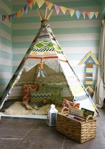 Hazlo t mismo una tienda de indios para la habitaci n de for Casa y jardin tienda