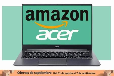 Los mejores portátiles Acer de las ofertas de septiembre en Amazon