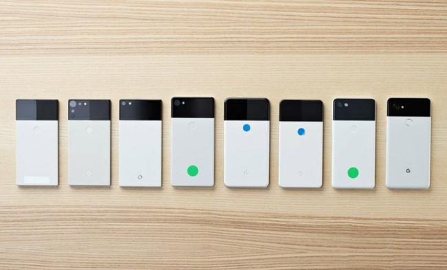 Pixel 2 Prototipos