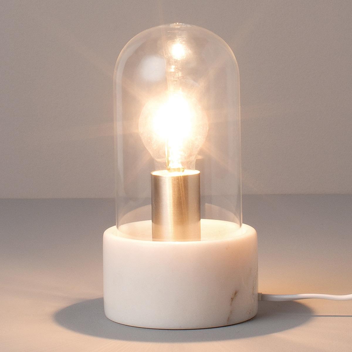 Lámpara de mesa de mármol