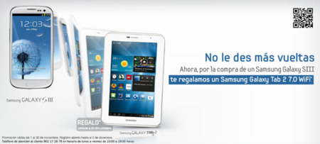 Samsung España regala el Galaxy Tab 2 7.0 por la compra del Galaxy SIII ¿respuesta a los Nexus?