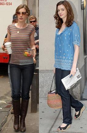 Anne Hathaway, una belleza natural
