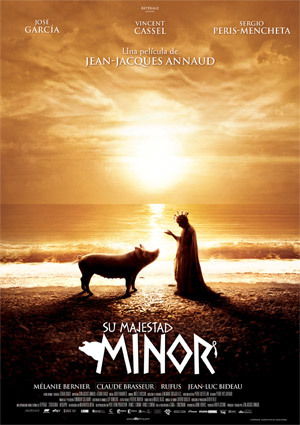 'Su majestad Minor', de Jean-Jaques Annaud: póster y tráiler