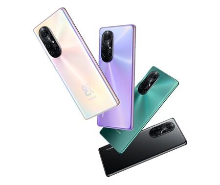 Huawei Nova 8 Pro Diseno Colores