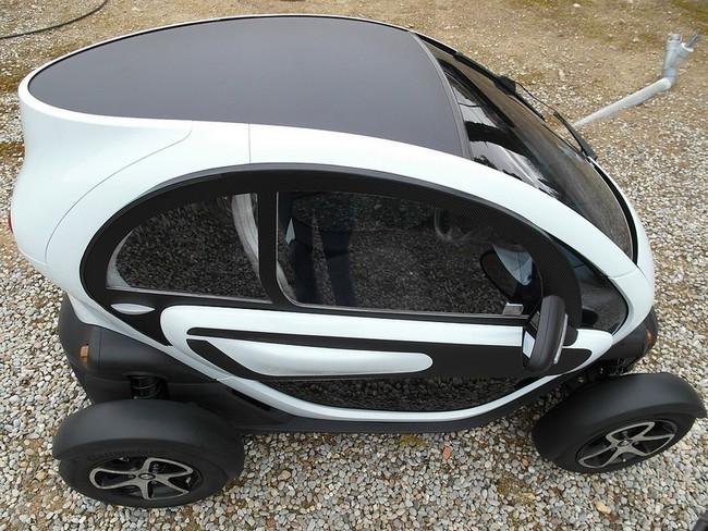 Renault Twizy nuevo kit de ventanillas deslizantes