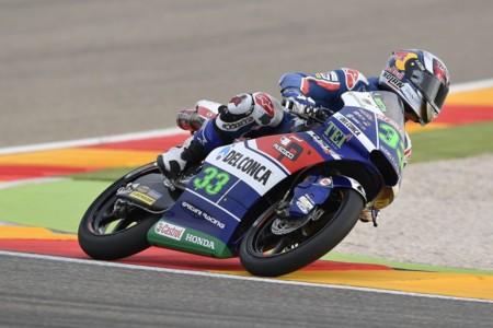 Enea Bastianini Gp Aragon Moto3 Gresini Racing