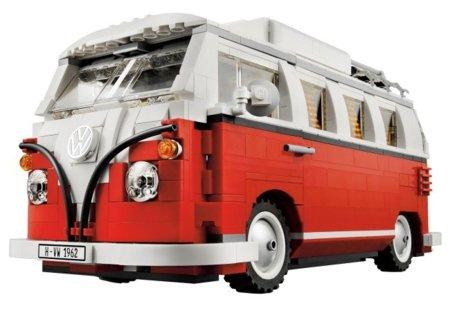 Volkswagen T1 en Lego