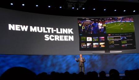 Así es la tele del futuro: Samsung Multilink Screen para acceder desde cualquier parte
