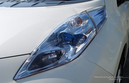 Nissan LEAF faro LED aerodinámico