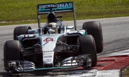 Lewis Hamilton Malasia Gp 2015