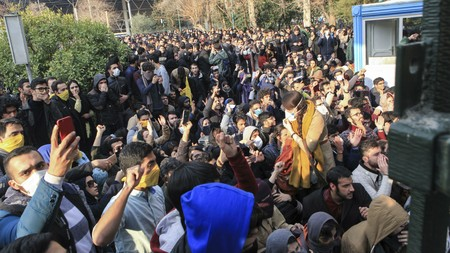 Student Protests Iran Ap