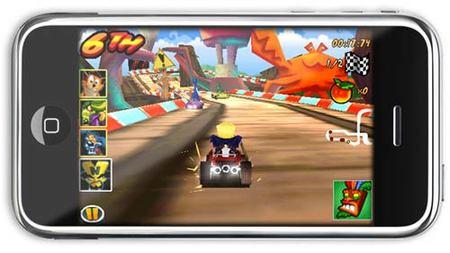 'Crash Bandicoot' triunfa en el iPhone