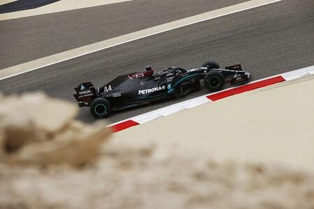 Hamilton Barein F1 2020