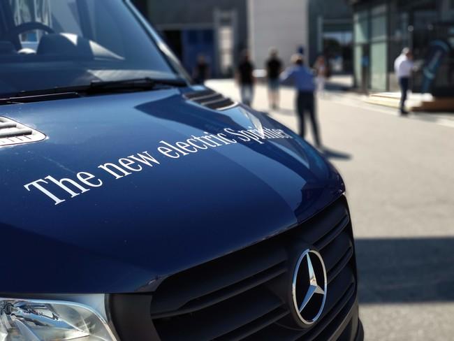 La Mercedes eSprinter eléctrica