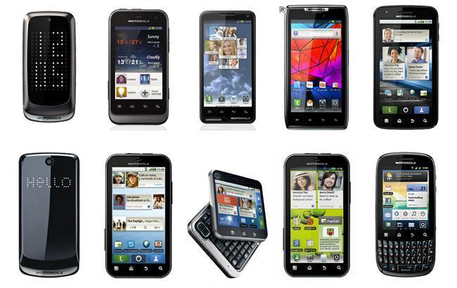 Gama Android de Motorola