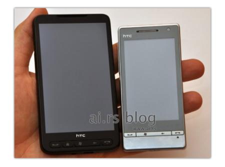 HTC Leo, potencia en una enorme pantalla