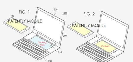 El híbrido móvil-portátil de Samsung existe, pero sólo en esta patente de 2014