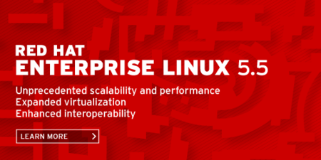 Presentado Red Hat Enterprise Linux 5.5