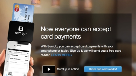 SumUp: otra compañía europea entra en el mercado de pagos por móvil