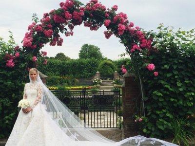 Nicky Hilton se casa con un precioso y carísimo Valentino