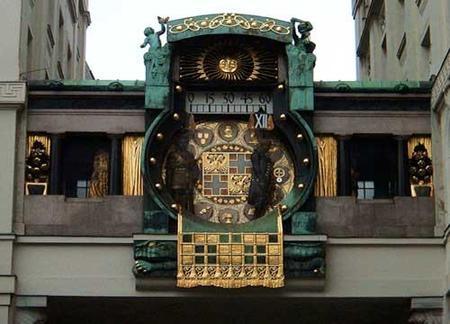 El ritual diario del reloj Anchor de Viena