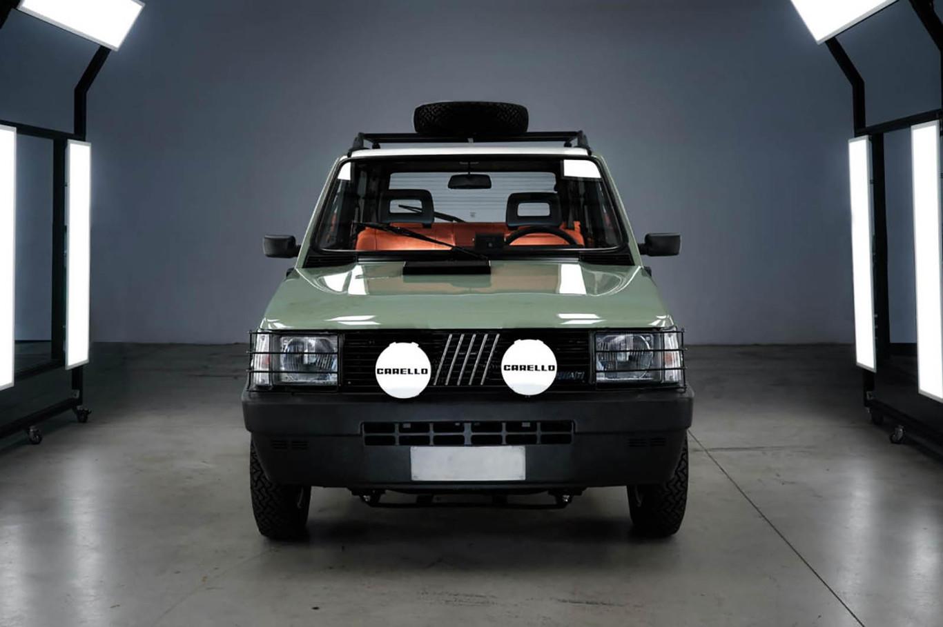 El Fiat Panda 4x4 Clasico Se Convierte En Un Coche Electrico Cool De La Mano De Garage Italia