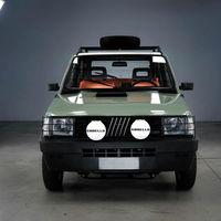 El Fiat Panda 4x4 clásico se convierte en un coche eléctrico cool de la mano de Garage Italia